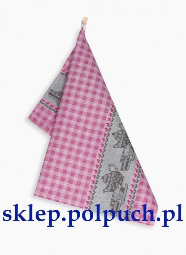 Ściereczka kuchenna Zwoltex Podwieczorek Aramantowy - 50x70 cm