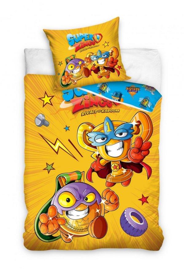 Pościel dla dzieci Super Zings 140x200 Kolorowa