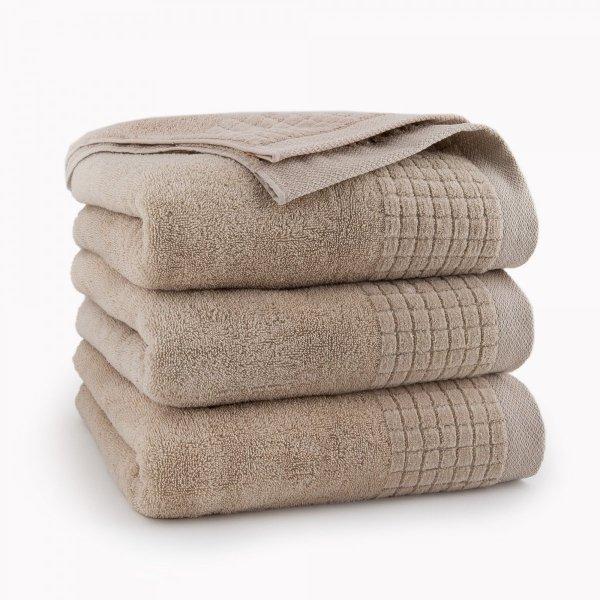 Ręcznik kąpielowy 70x140 Beżowy Paulo Zwoltex