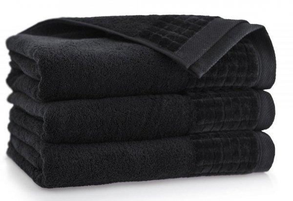 Ręcznik Paulo 3 30x50 Czarny - Bawełna Egipska