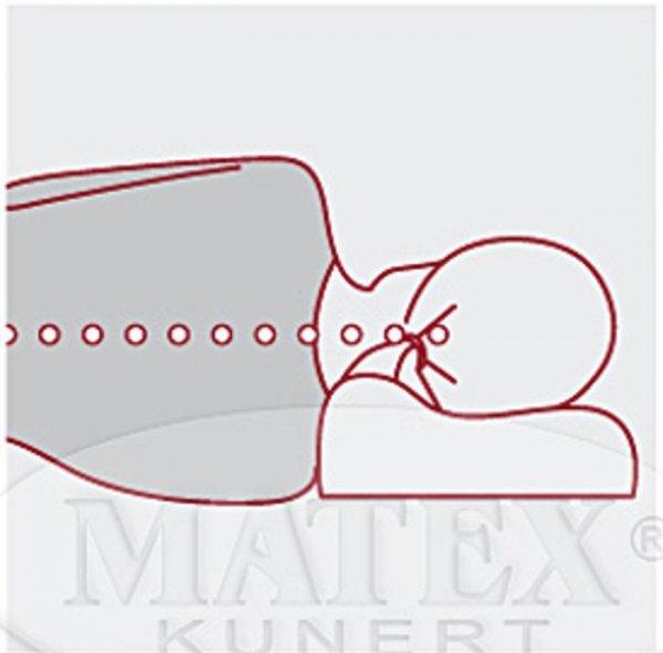 Poduszka ortopedyczna z pamięcią Matex
