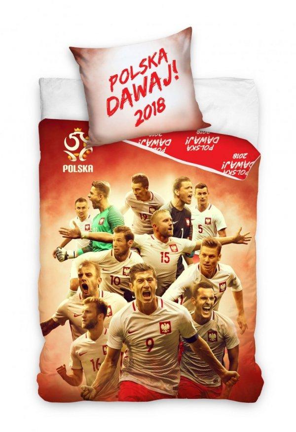Pościel Reprezentacja Polski 140x200 Lewandowski