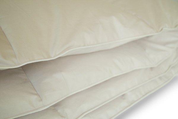 Najwyższa jakość kołder i poduszek z puchu i pierza gęsiego.