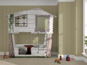 Łóżka domek na drzewie