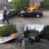 Samochodowa Płachta Gaśnicza SPG 6X8