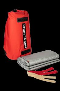 Samochodowa płachta gaśnicza Padtex Insulation SPG 6x9 Wielokrotnego użytku + torba transportowa