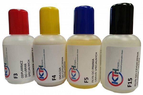 Zestaw maxi próbek 4x50 ml - F3, F4, F5, F15 + GRATIS