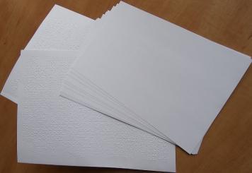 Papier brajlowski A4