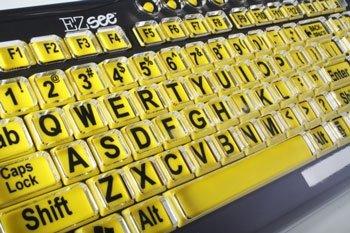 EZ-See - powiększona klawiatura dla słabowidzących