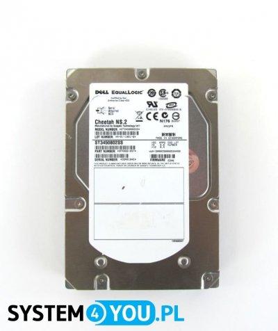 Dysk 450GB SAS 10K 3,5 ST3450802SS Equallogic