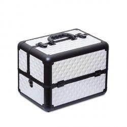 Kuferek kosmetyczny White Diamond Premium