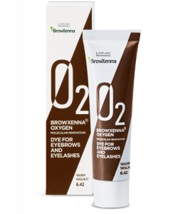 Farba do brwi i rzęs BrowXenna® OXYGEN O₂ Warm walnut #6.42