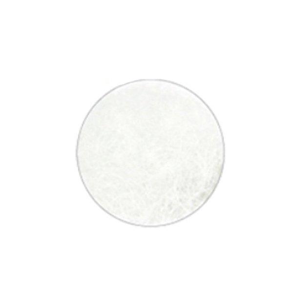 Rzęsy Białe  jedwabne D 0,20