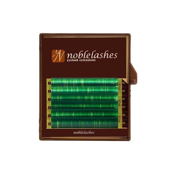 Rzęsy zielone C MIX