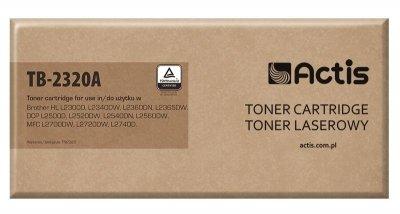 Toner ACTIS TB-2320A (zamiennik Brother TN-2320; Standard; 2600 stron; czarny)