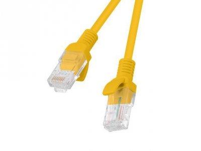 Patchcord U/UTP Lanberg PCU5-10CC-0025-O (RJ45 - RJ45 ; 0,25m; UTP; kat. 5e; kolor pomarańczowy)