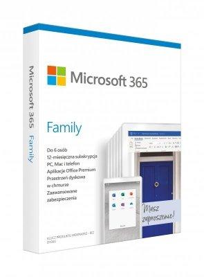 Microsoft 365 Family Polish EuroZone Subscr