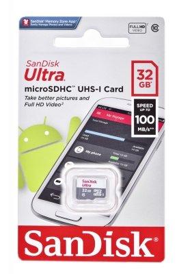 SANDISK ULTRA microSDHC 32 GB 100MB/s