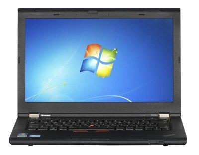 LENOVO ThinkPad T430S i5-3320M 4GB 120GB SSD 14 HD Win7pro +zasilacz UŻYWANY
