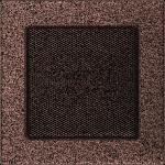 KRATKA kominkowa 17x17 miedziana malowana