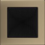 KRATKA kominkowa 17x17 złoto galwaniczne