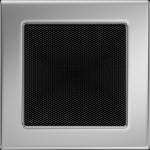 KRATKA kominkowa 17x17 niklowana