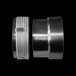 PRZEJŚCIE rura stalowa - komin ceramiczny fi 200