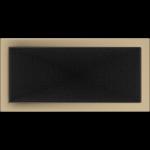 KRATKA kominkowa 22x45 złoto galwaniczne