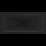 KRATKA kominkowa 22x45 czarna