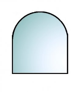 A2 110, podstawa szklana pod piec wolnostojący