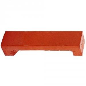 Cegła klinkierowa czerwona narożna 22x5x5cm