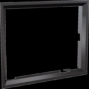 Ramka stalowa do wkładu NADIA 10 po przełożeniu drzwi