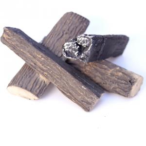 Ozdobne drewienka ceramiczne jodła