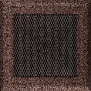 KRATKA kominkowa OSKAR 17x17 miedziana malowana