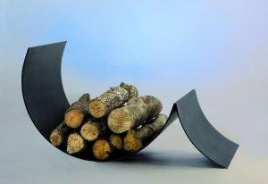 Ufocus - Pojemnik na drewno do kominka