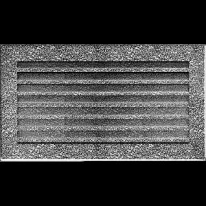 KRATKA kominkowa FRESH  czarno-srebrna 17x30