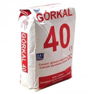 Cement ogniotrwały Górkal 5kg