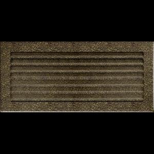 KRATKA kominkowa FRESH  czarno-złota 17x37
