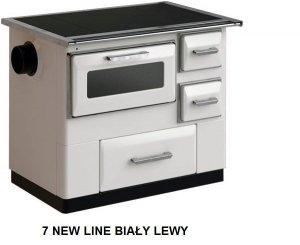 Kuchnia 7 New Line Biały lewy - MBS 9,5 kW