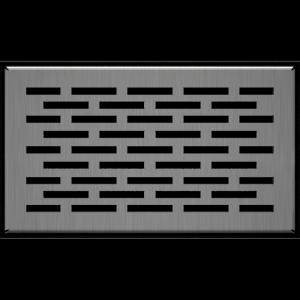KRATKA kominkowa podłogowa szlif FLOOR 11x17