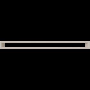 KRATKA kominkowa TUNEL  kremowa 60x800