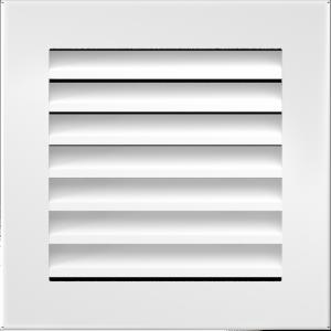 KRATKA kominkowa FRESH  biała 17x17
