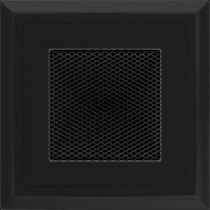 KRATKA kominkowa OSKAR 11x11 czarna