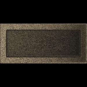 KRATKA kominkowa 17x37 czarno-złota