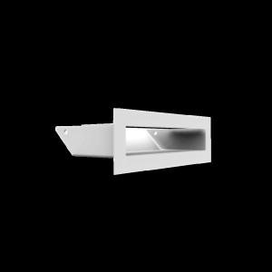 Kratka kominkowa LUFT biały 6x20