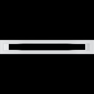 KRATKA kominkowa TUNEL biała 60x400