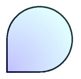 J2 100, podstawa szklana pod piec wolnostojący