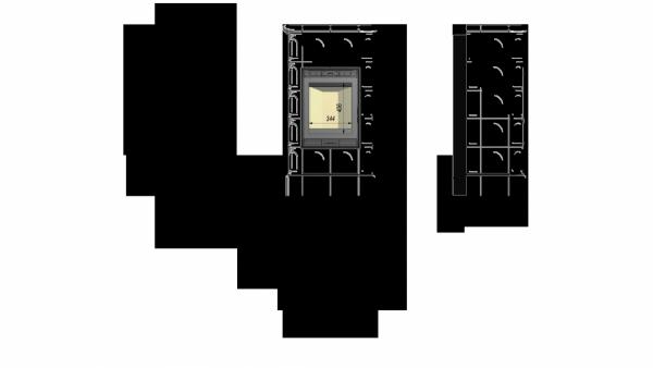 BLANKA 8 -  kafel kremowy połysk