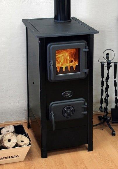 Hera Czarny z płytą do gotowania - MBS 7 kW