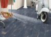 EGGER - Panele podłogowe Dąb Halford Niebieski EPL041 4V / AQUA+ 8mm AC4